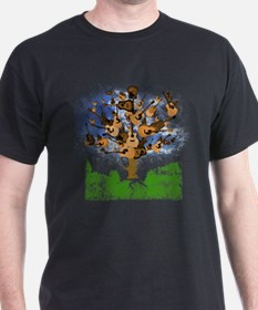 Acoustic Guitar Tree (Color) Tee