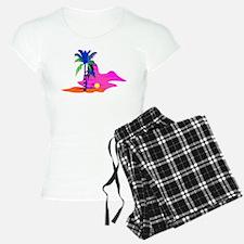 Palm Island Sunset Pajamas