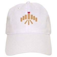 Kubb game Baseball Cap