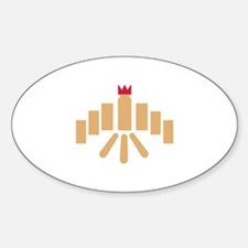 Kubb game Decal