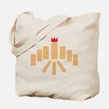 Kubb game Tote Bag