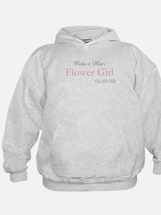 Custom Flower Girl Hoodie