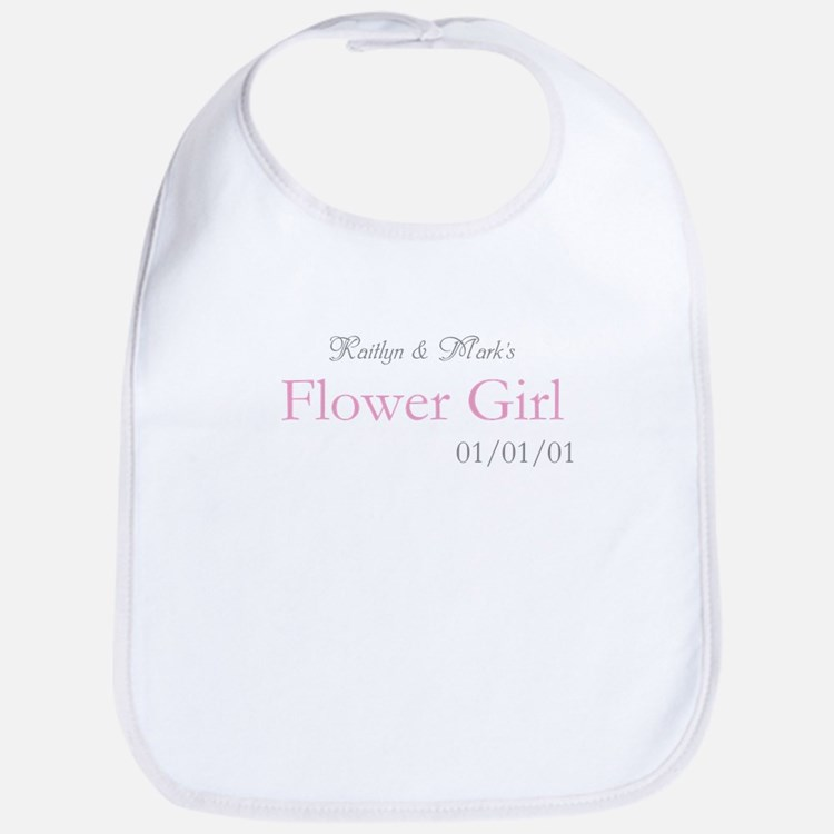 Custom Flower Girl Bib