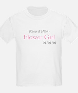 Custom Flower Girl T-Shirt