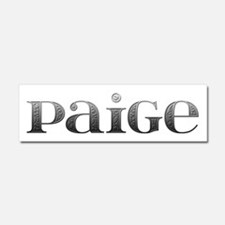 Paige Carved Metal 10x3 Car Magnet