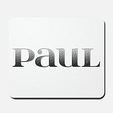 Paul Carved Metal Mousepad