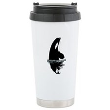Orca Killer Whale Travel Mug