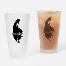 Orca Killer Whale Drinking Glass