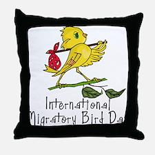 Celebrate Migratory Birds Throw Pillow