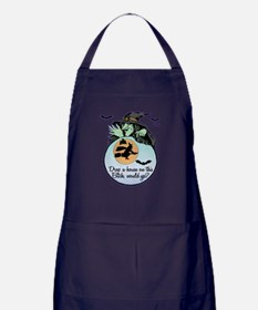 Drop A House Would You? Apron (dark)
