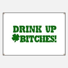 Drink up this Saint Patrick's Banner