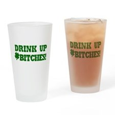Drink up this Saint Patrick's Drinking Glass