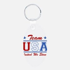 TEAM USA United We Stand Keychains