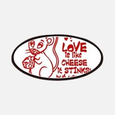 Love Stinks Like Cheese Patches