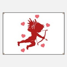Valentine's Day Cupid Banner