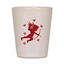 Valentine's Day Cupid Shot Glass