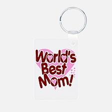 World's BEST Mom! Keychains