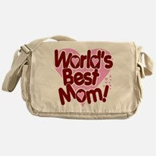 World's BEST Mom! Messenger Bag