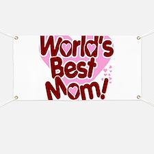 World's BEST Mom! Banner