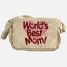 World's BEST Mom! Messenger Bag