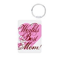 Mother's Day Worlds Best Mom Keychains