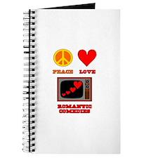 Peace Love Romantic Comedy Journal