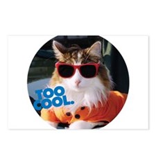 Cool Kitty Postcards (Package of 8)