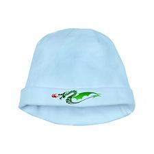 Green Dragon baby hat