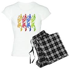 Multi-Color Dragon Quad Pajamas
