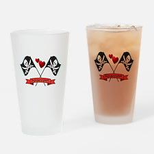 Jack Sparrow <3 Drinking Glass