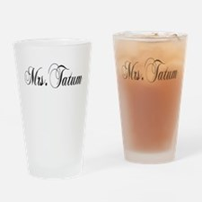 Mrs. Tatum Drinking Glass
