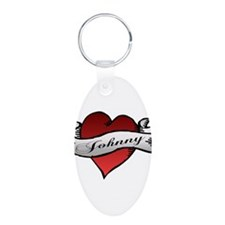 Johnny Tattoo Heart Keychains