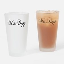 Mrs. Depp Drinking Glass