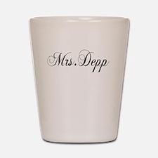 Mrs. Depp Shot Glass