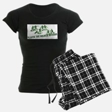 Plastic Toy Soldier Division Pajamas