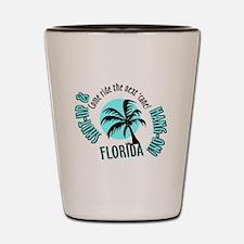 FLORIDA Come Ride the Hurrica Shot Glass