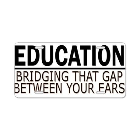 EDUCATION - TEACHER - PROFESS Aluminum License Pla