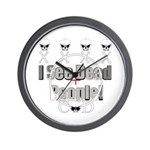 Cod gamer 4 Wall Clock