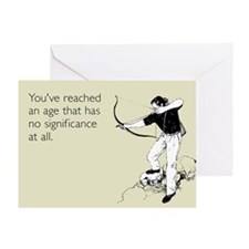 Insignificant Age Greeting Card