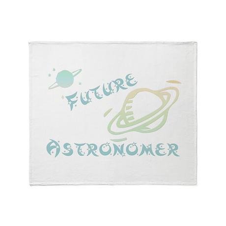 Future Astronomer Throw Blanket