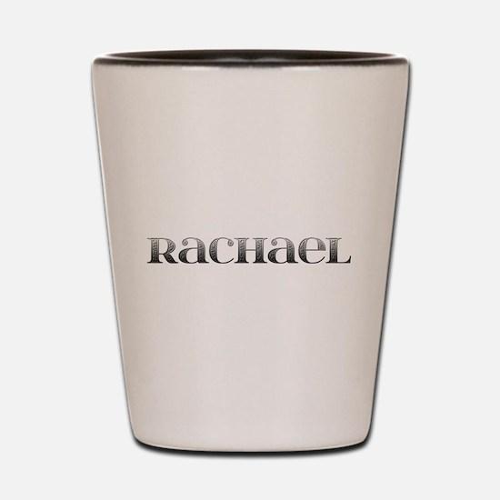 Rachael Carved Metal Shot Glass