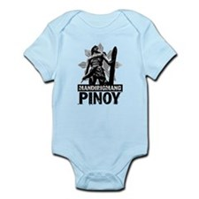 Mandirigmang Pinoy Infant Bodysuit