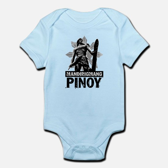 Mandirigmang Pinoy Infant Bodysuit