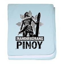 Mandirigmang Pinoy baby blanket