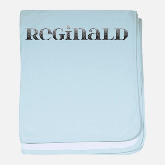 Reginald Carved Metal baby blanket
