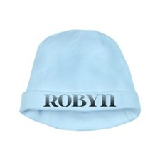 Robyn Carved Metal baby hat
