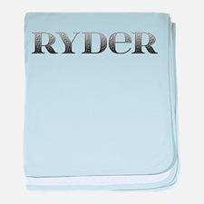 Ryder Carved Metal baby blanket