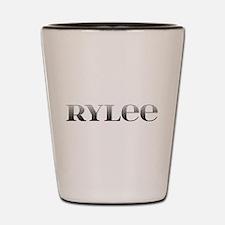Rylee Carved Metal Shot Glass