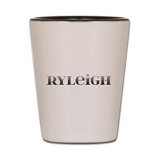 Ryleigh Carved Metal Shot Glass