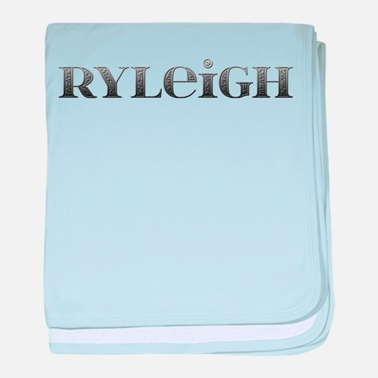 Ryleigh Carved Metal baby blanket